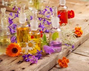 Duftöle können therapeutische wirkung haben. © Floydine - Fotolia.com