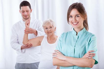 <strong>Der Fernstudiengang Therapiewissenschaften ist für Ergotherapeuten, Logopäden, Physiotherapeuten und andere verwandte Berufsgruppen mit akademischer Ausbildung geeignet.</strong><br/>© Photographee.eu - Fotolia.com